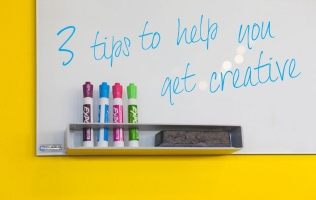 3 tips to help you get creative