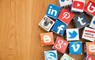 Social media can be a powerful tool when launching your new website